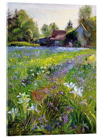 Akryylilasitaulu  Cottage in the country - Timothy Easton