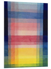 PVC-taulu  Architecture of the plain - Paul Klee