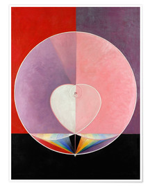 Juliste  The Dove, No. 2 - Hilma af Klint