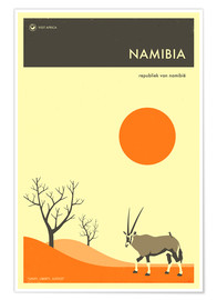 Juliste  Namibia - Jazzberry Blue