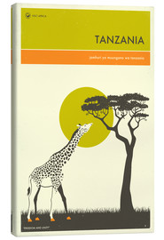Canvas-taulu  Tanzania - Jazzberry Blue