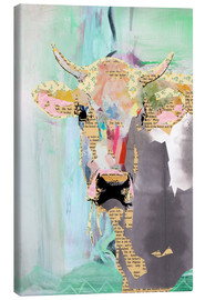 Canvas-taulu  Cow collage - GreenNest