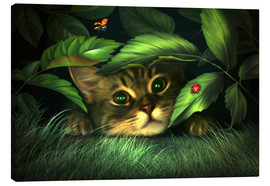 Canvas-taulu  My hiding - Elena Dudina