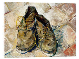 Akryylilasitaulu  A Pair of Shoes - Vincent van Gogh