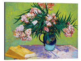 Alumiinitaulu  Majolica Jar with Branches of Oleander - Vincent van Gogh