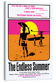 Canvas-taulu  The Endless Summer - Entertainment Collection