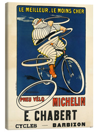 Canvas-taulu  Bicycle tires Michelin - H.L. Roowy