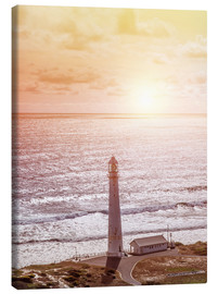 Canvas-taulu  Morning glow at the lighthouse