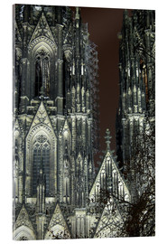 Akryylilasitaulu  Detail of Cologne Cathedral
