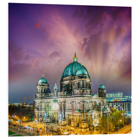 PVC-taulu  Berliner Dom - German Cathedral at sunset