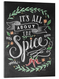 Akryylilasitaulu  It's all about the Spice - Lily & Val