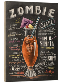 Puutaulu  Zombie Cocktail recipe - Lily & Val