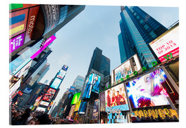 Akryylilasitaulu  Times Square - most popular spot in New York