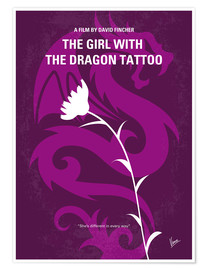 Juliste The Girl With The Dragon Tattoo