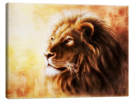 Canvas-taulu  King of the animals