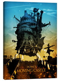 Canvas-taulu  Howl's Moving Castle - Albert Cagnef