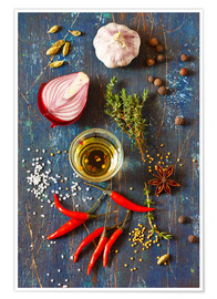 Juliste  Spices and Herbs