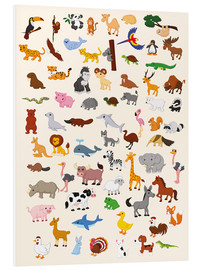 PVC-taulu  Animal World - Kidz Collection