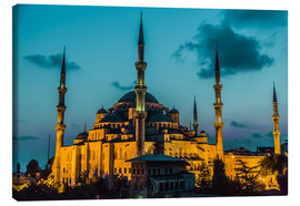 Canvas-taulu  Blue Mosque in Istanbul