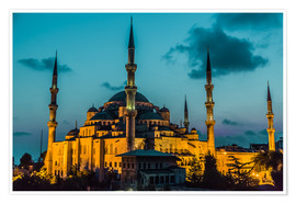 Juliste  Blue Mosque in Istanbul