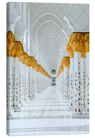 Canvas-taulu  Detail of Sheikh Zayed Mosque
