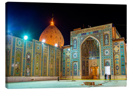 Canvas-taulu  Shah Cheragh, a funerary monument and mosque in Shiraz, Iran