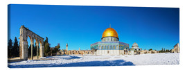Canvas-taulu  Dome of the Rock mosque in Jerusalem, Israel