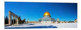 PVC-taulu  Dome of the Rock mosque in Jerusalem, Israel
