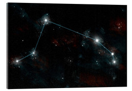 Akryylilasitaulu  Artist's depiction of the constellation Aries the Ram. - Marc Ward