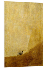 PVC-taulu  Dog - Francisco José de Goya