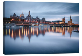 Canvas-taulu  Dresden old town at the blue hour - Philipp Dase