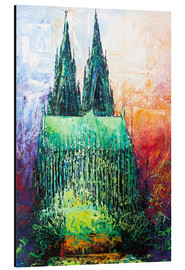 Alumiinitaulu  Cologne Cathedral Abstract - Renate Berghaus
