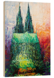 Puutaulu  Cologne Cathedral Abstract - Renate Berghaus