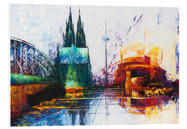 PVC-taulu  Cologne Cathedral Skyline - Renate Berghaus