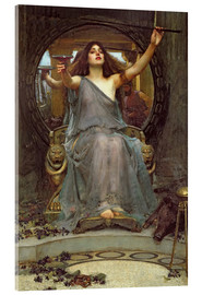 Akryylilasitaulu  Circe Offering the Cup to Ulysses - John William Waterhouse