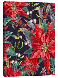 Canvas-taulu  The Poinsettia