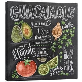 Canvas-taulu  Guacamole - Lily & Val