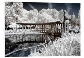PVC-taulu  Infrared - Old Architecture - Philippe HUGONNARD