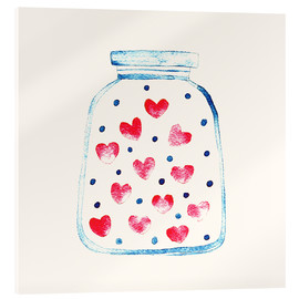 Akryylilasitaulu  Love in a glass - Kidz Collection