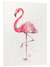 PVC-taulu  A Flamingos Fancy - Sillier Than Sally