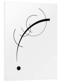 PVC-taulu  Free Curve to the Point - Wassily Kandinsky