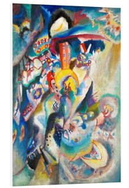 PVC-taulu  Moscow II (Red Square) - Wassily Kandinsky