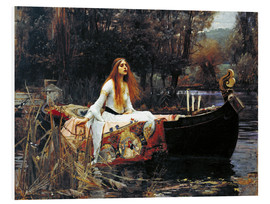 PVC-taulu  The Lady of Shalott - John William Waterhouse
