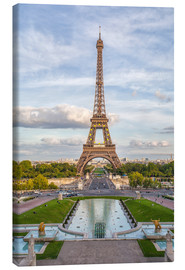 Canvas-taulu  Eiffel Tower and Europe - Roberto Sysa Moiola