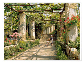 Juliste Pergola in Ravello