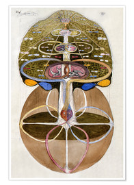 Juliste  Tree of Knowledge, No. 1 - Hilma af Klint
