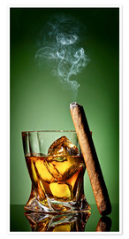Juliste Cigar on the rocks