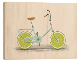 Puutaulu  Lime Bike - Florent Bodart