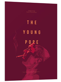 PVC-taulu  Young Pope - Fourteenlab