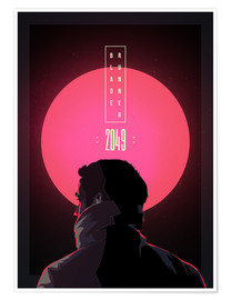 Juliste  Blade Runner - 2049 - Fourteenlab
